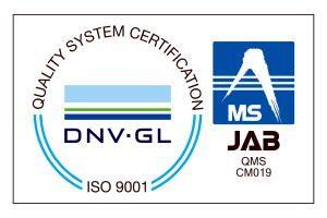 ISO9001 取得 2006年3月1日